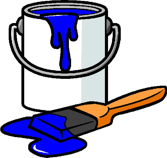 538x507 Painting Clipart Paint Bucket