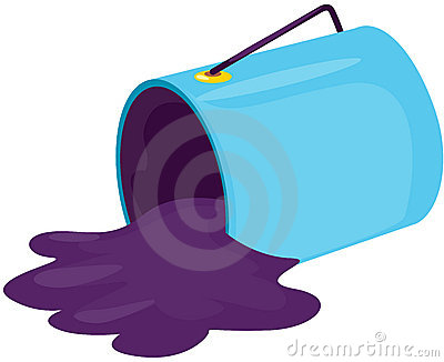 400x326 Purple Clipart Bucket