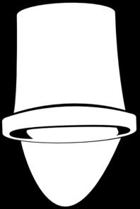 198x296 White Bucket Clip Art
