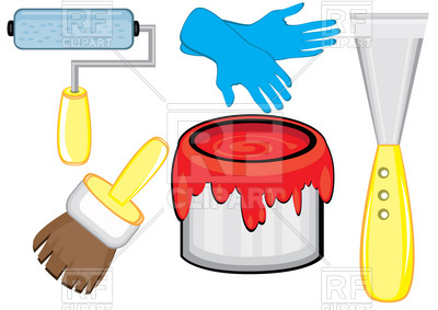 400x283 House Painter's Tools