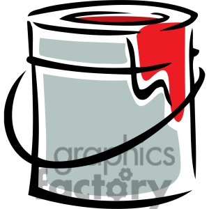 300x300 Paint Can Clipart