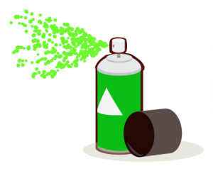 300x241 Paint Can Spray Clip Art Download