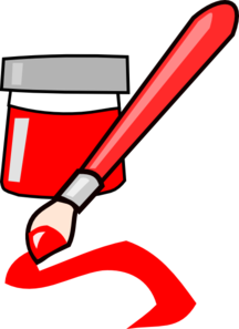 216x297 Red Paint Can Clipart