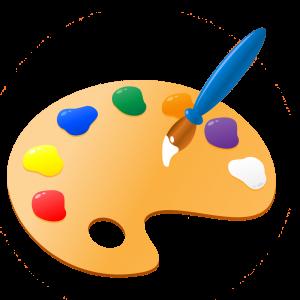Paint Pallet Clipart