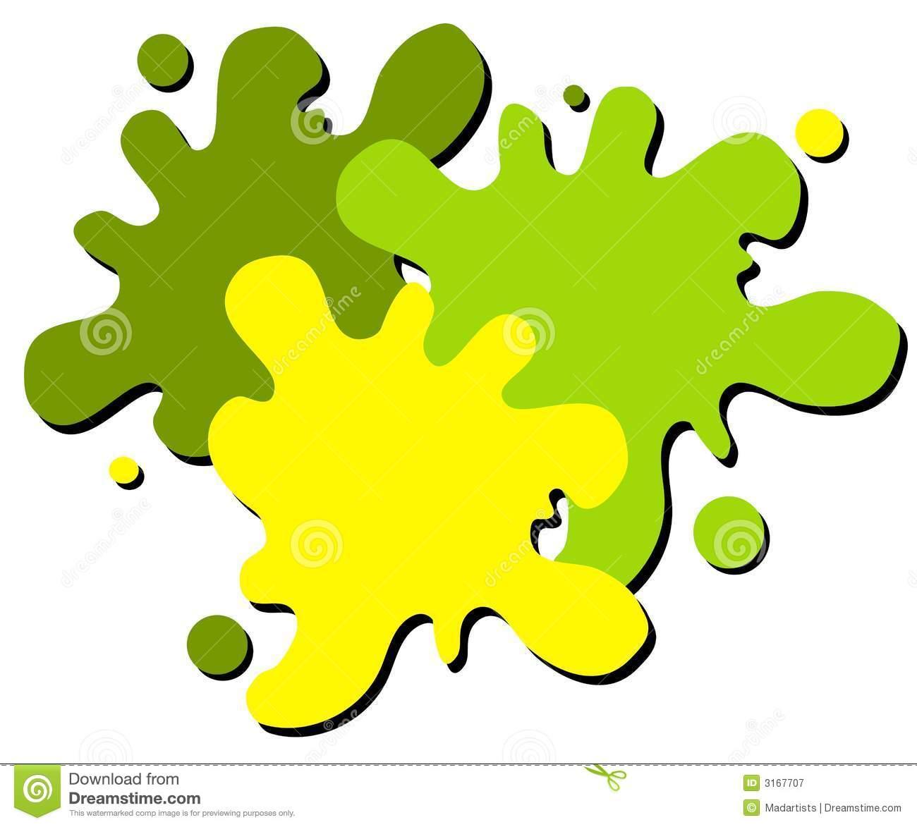 1300x1173 Green Paint Splatter Clipart