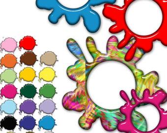 340x270 Paint Splashes Etsy