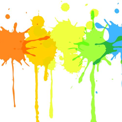 500x500 Paint Splatter Clipart