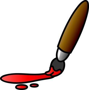 296x300 Paint Splatter Clip Art Clipart Image