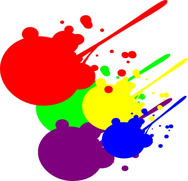 Paint Splatter Clipart