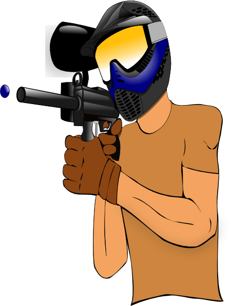 450x597 Paintball Guy Clip Art