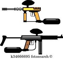 205x194 Paintball Gun Clipart And Illustration. 701 Paintball Gun Clip Art
