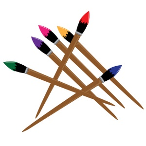 300x300 Paintbrush Paint Brush Clip Art Free Clipart Images 6 2