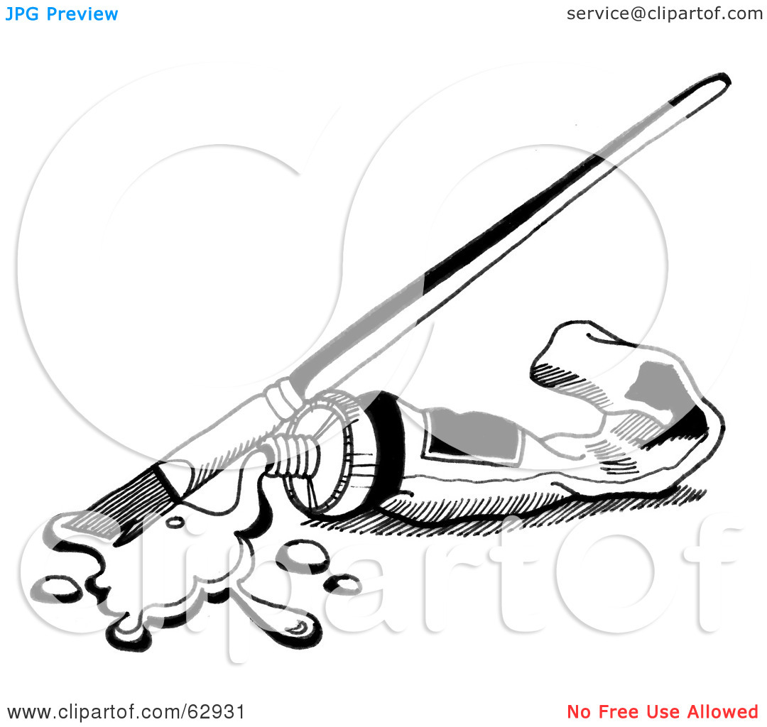 1080x1024 Watercolor Clipart Black And White