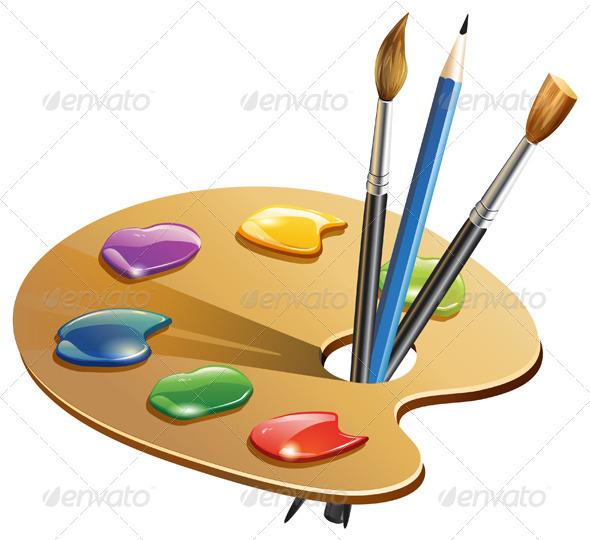 590x540 Paint Brush