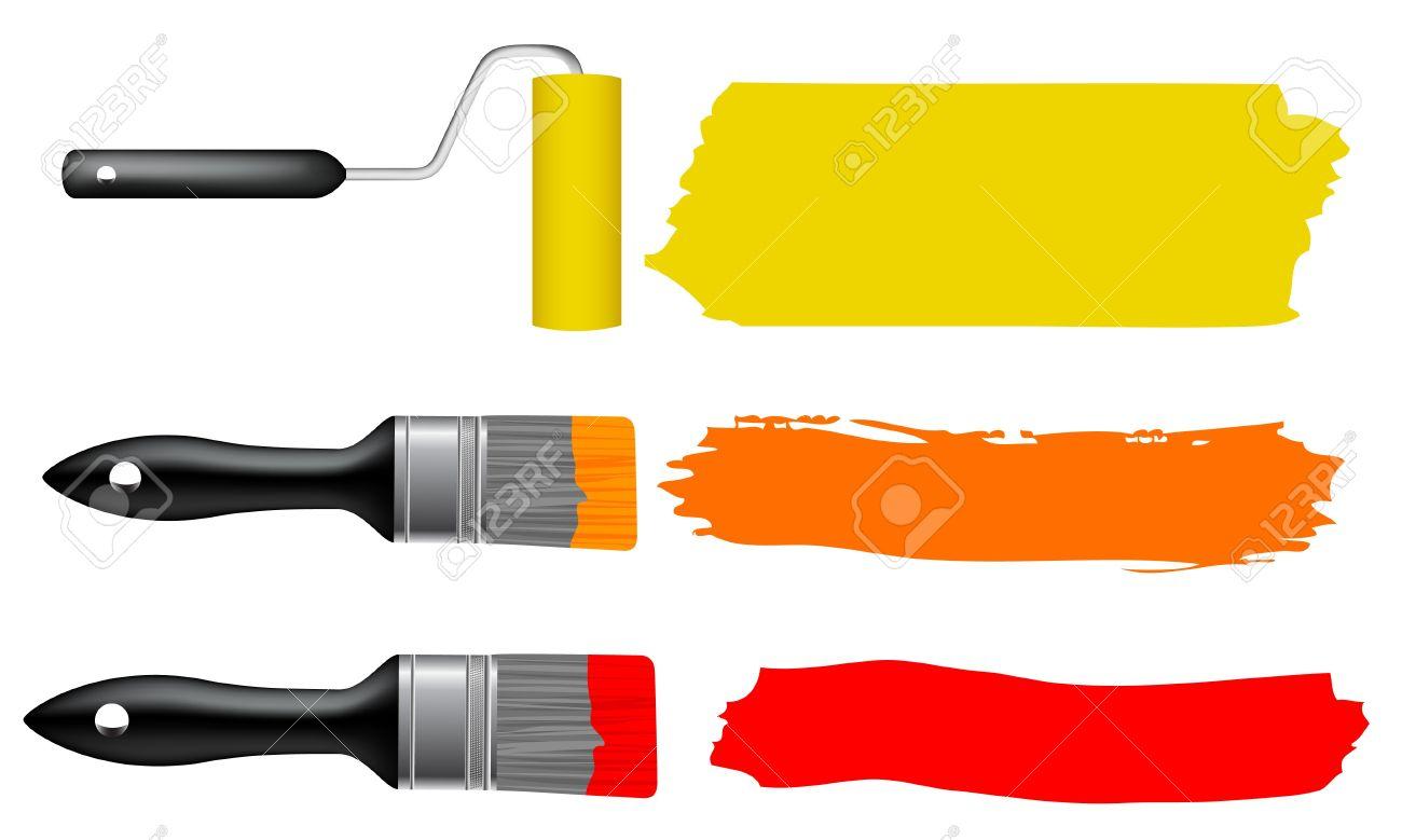 paintbrush illustration free download best paintbrush illustration on. Black Bedroom Furniture Sets. Home Design Ideas