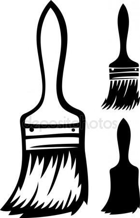 290x450 Paint Brush Stock Vectors, Royalty Free Paint Brush Illustrations
