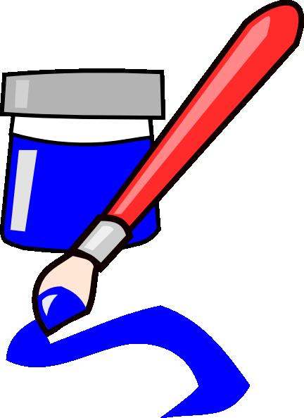 432x593 Paintbrush Clipart