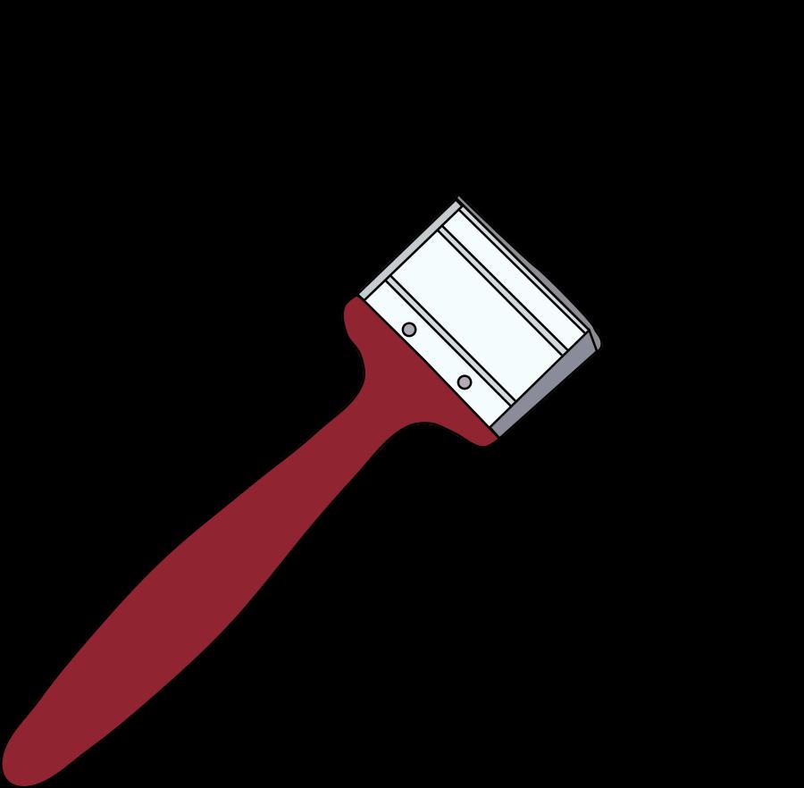 900x882 Best Paintbrush Clipart