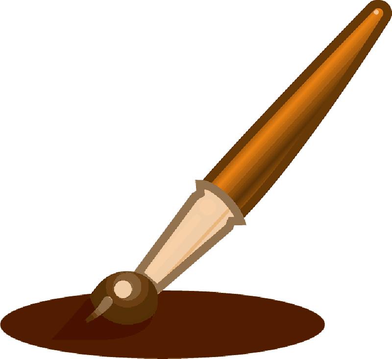 800x733 Paintbrush, Paint, Brush, Painting, Write, Pen