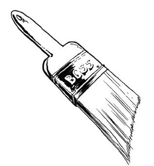 316x341 Paintbrush Picture