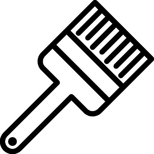 512x512 Paintbrush, Tools And Utensils, Repair, Paint, Brush, Construction