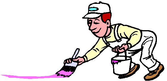 561x274 House Painter Clipart