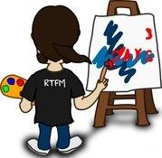 179x175 Paintbrush Painter Clip Art, Vector Paintbrush Painter