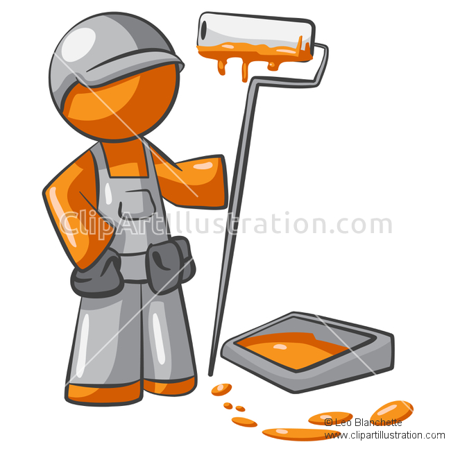 650x650 Painting Clipart Man Painting