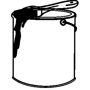 300x300 Painting Clipart Paint Can