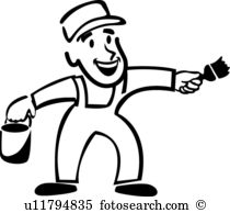 210x194 Painter Clipart Black And White Cliparts