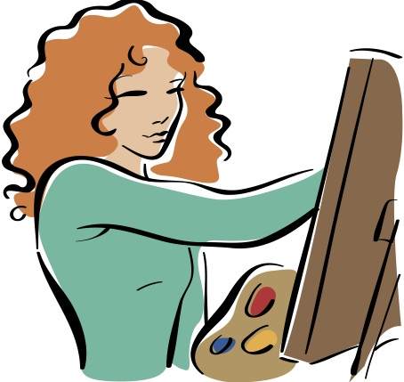 454x429 Paint Clipart Person Painting
