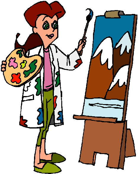 466x585 Painting Clipart