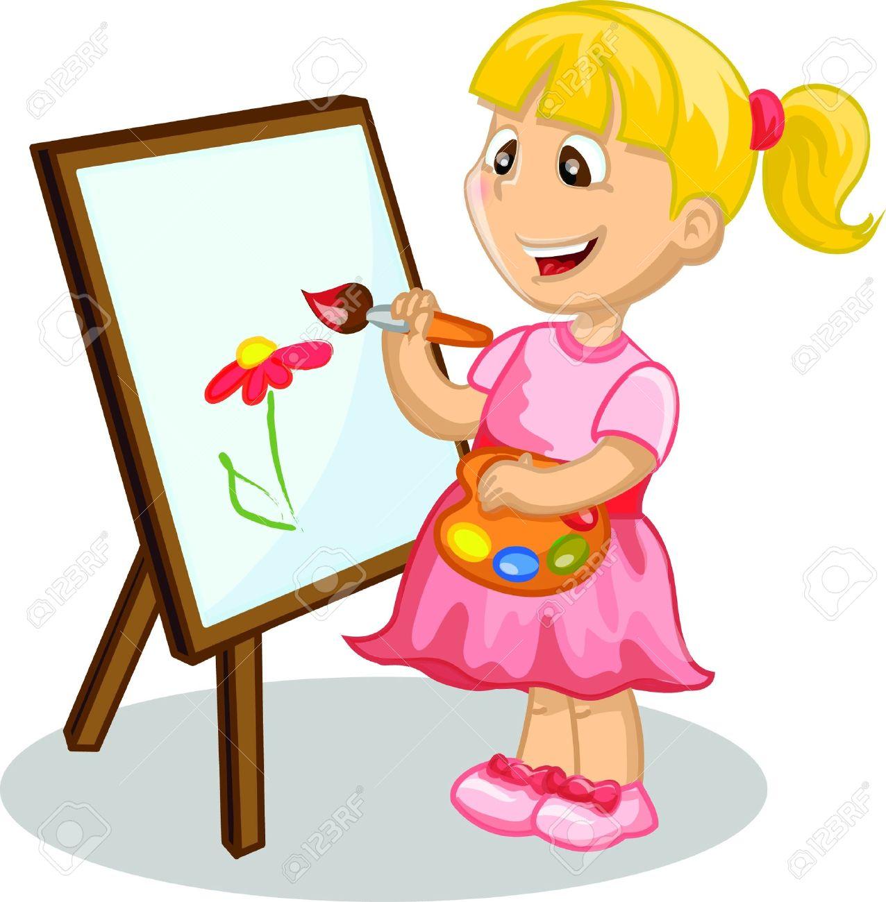 1276x1300 Painting Clipart Kindergarten