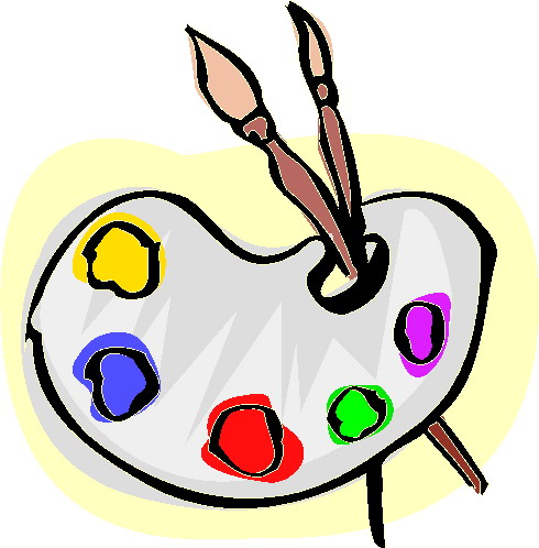 490x498 Clip Art Art Painting Clipart 2159544