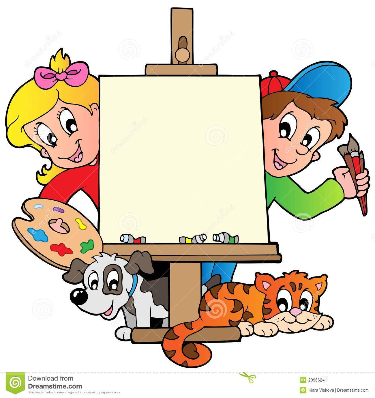 1300x1379 Kid Painting Clipart, Explore Pictures