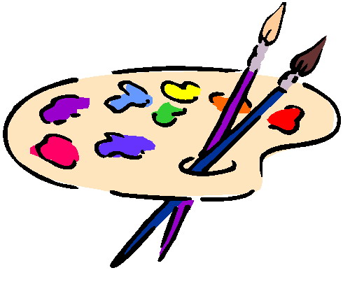490x403 Painting Clip Art Pictures To Pin