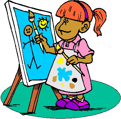 395x389 Painting Clip Art Free Toublanc Info Image