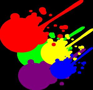 298x288 Paint Splatter Clip Art