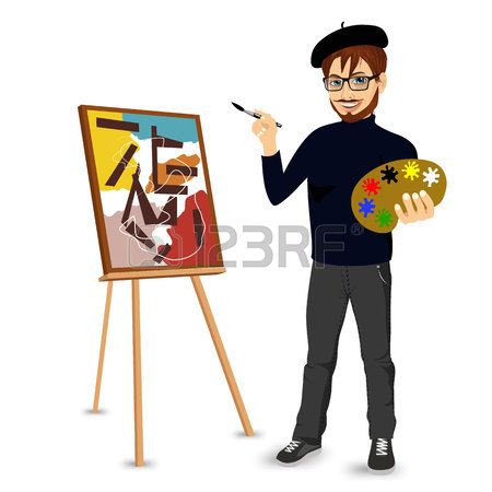 Painting Easel Clipart