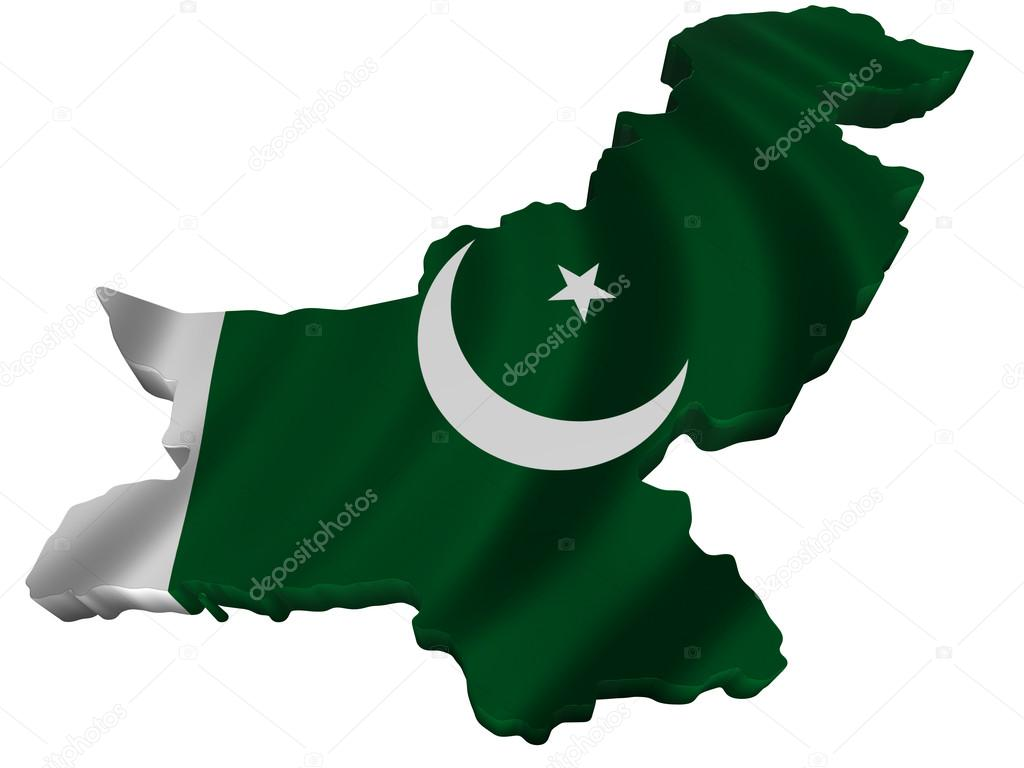 1024x768 Flag And Map Of Pakistan Stock Photo Sav Up