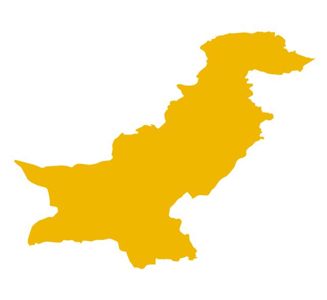 640x587 Pakistan Clipart Pakistan Map