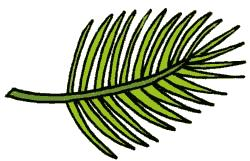250x161 Tropical Leaf Clipart (40+)