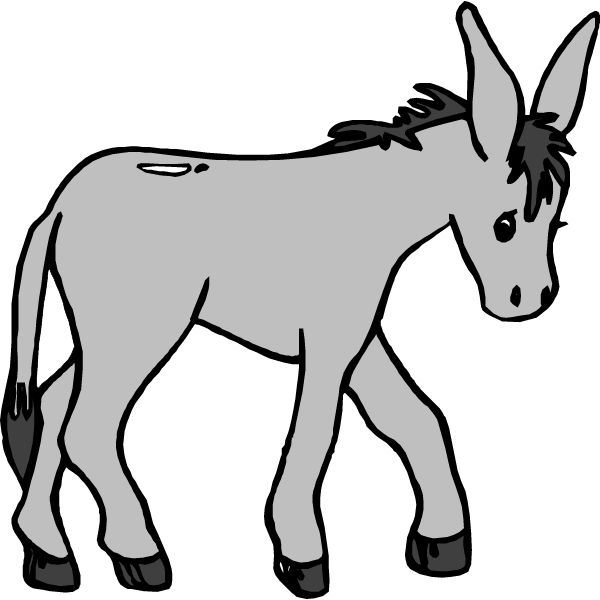 Palm Sunday Clipart Black And White