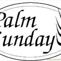200x200 Palm Sunday Clipart Black And White