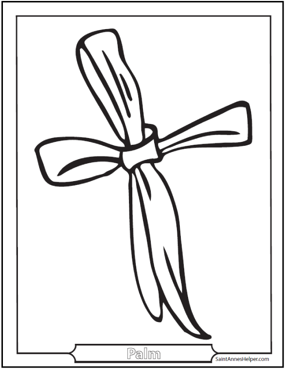 590x762 Palm Sunday Coloring Pages Jesus On The Before Easter Clip Art