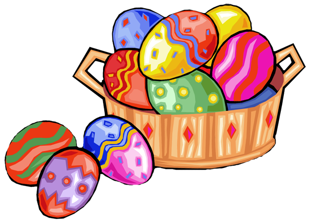 638x457 Free easter clip art borders clipart image