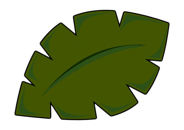 600x425 Leaf clipart palm leaves