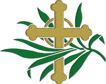 340x270 Palm sunday clip art
