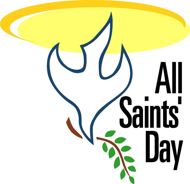 800x774 All Saints Day Clip Art