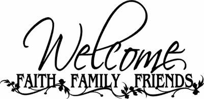 400x196 Religious Family And Friends Clipart